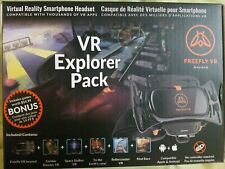 New FreeFly VR beyond VR Explorer Pack Virtual Reality Smartphone Headset #0061