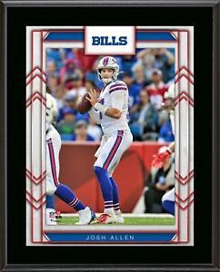 "Josh Allen Buffalo Bills 10.5"" x 13"" Player Sublimated Plaque - Fanatics"