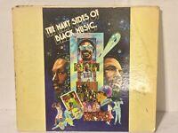 Many Sides Of Black Music VG+ 5LP OVERSIZED HARDCOVER rare