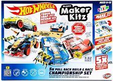 Hot Wheels Maker Kitz Build & Race Kit 5pk