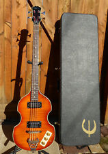 EPIPHONE VIOLA~ELECTRIC BASS GUITAR~4 String~Right Handed~BEATLE BASS w/ CASE