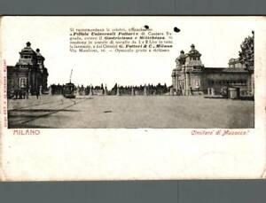 Milano Cimitero di Musocco Tram non spedita f. piccolo