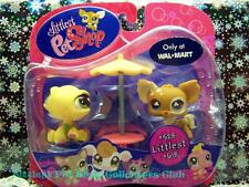 Littlest Pet Shop RARE! Walmart Excl. CHIHUAHUA lot #528 TURTLE #618 Retired NIB