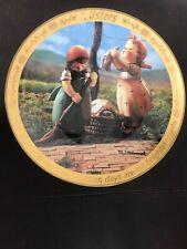 Danbury Mint Collector Plate M J Hummel ToGethers Days. 23Kt Gold Trim 2007