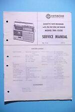 Manuel de reparation pour Hitachi TRK-1255 ,ORIGINAL