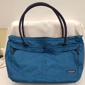 💙🙌PATAGONIA - Handbag - Shoulder Tote - Messenger Bag - TEAL - Computer Tablet
