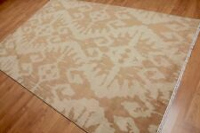 6' x 9' Hand Knotted Abstract 100% Wool Area Rug AOR8557