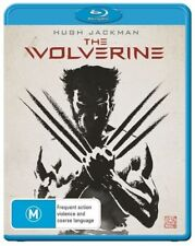 The Wolverine (Blu-ray, 2013) Region B - Hugh Jackman - Sci-Fi / Fantasy Movie🍿