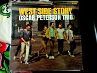 OSCAR PETERSON TRIO-WEST SIDE STORY VINYL LP 1962 VERVE STEREO SHRINK SLEEVE