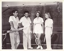 GINGER ROGERS Original CANDID Tennis Court Vintage 1938 MIEHLE RKO Studio Photo