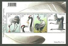 BIRDS FINLAND - Cranes M/S 1997 MNH