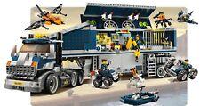 Lego 8635 Agents Mission 6 Mobile Command Centre + notice complet de 1992 CNG8