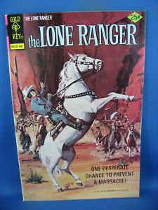 THE LONE RANGER 25 VF+ GOLD KEY 1976