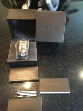 Mens Gucci 4600M Stainless Steel Watch