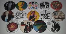 14 Goo Goo Dolls Pin Button badges Jed Boy Named Dizzy up the Girl Hold me Iris