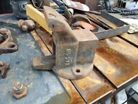 Original Parker 21 X Bench Vise BODY,REAR JAW SECTION only  parts