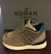 HOGAN BIMBO Sneaker grigio  1-5 anni N21 e 22 SCONTO 50%