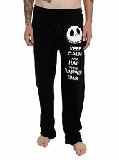 NIGHTMARE BEFORE CHRISTMAS MEN'S LOUNGE PANTS SIZE SM NEW NBC DISNEY PANTS JACK