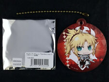 Fate/Apocrypha Chara Leather Key Chain official A3 Saber of Red Mordred New