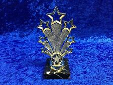 Gold Leavers Star of the Week Award Trophy School Dance Drama FREE engraving