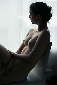 Art Print, Fine Art Nude Study, 8.5x11 Color film photograph, signed print!!
