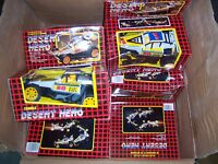 LOT DE 16 VOITURES BUGGY desert hero  neuf collection vers 1990