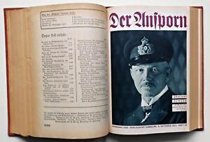 Der Ansporn. Die Zeitschrift für Vorwärtsstrebende. Jg. 1933 Band 2/12 Ausgaben