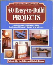 The Weekend Woodworker: 40 Easy-To-Build Projects