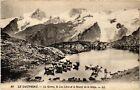 CPA Le Dauphiné - La Grave, le Lac Léris et le Massif de la Meije (583426)