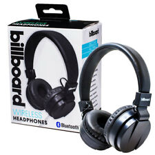 Bluetooth On Ear Headphones for iPhone 7, 8, X Black NEW Billboard MG509 RRP £25