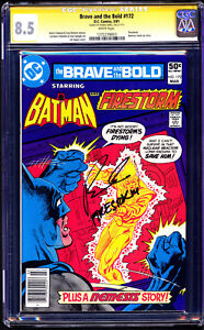 Brave and the Bold #172 CGC 8.5 SS Robbie AMELL (Firestorm) Arrow / Flash TV