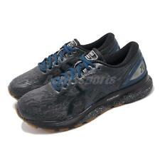 Asics Gel-Nimbus 21 Winterized Grey Black Navy Men Running Shoes 1011A633-020
