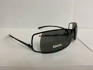 DIESEL SUNGLASSES & CASE MICRO COLD 003 62 11 110 WOMENS MENS DESIGNER HOLIDAY