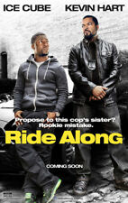 RIDE ALONG MOVIE POSTER 2 Sided ORIGINAL 27x40 ICE CUBE KEVIN HART