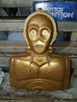 1996 Kenner Star Wars The Power of The Force Talking C-3PO Carry Case ...L27
