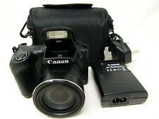 Canon PowerShot SX400 IS 16.0MP Digital Camera - Black-Used
