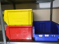 SSI Schäfer Lagerkisten LF543 LF 543 Stapelboxen Euroboxen Lagerkisten Gelb