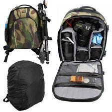 Camouflage Camera Backpack/Rucksack for Panasonic DMC-FZ72 EB-K Lumix