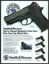 1996 SMITH & WESSON 457 Pistol PRINT AD shown w/ 908, 909, 910, 410
