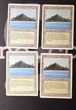 4 Tropical Island (#0303) - Revised Land MtG Magic 93/94 Old School Rare 4x x4