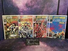 5-Silver Surfer Warlock Resurrection #1-4 4 Marvel Comics Mephisto Shallabal 93'