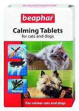 Beaphar Calming tablets for dogs and cats reduces noise phobia firework fear