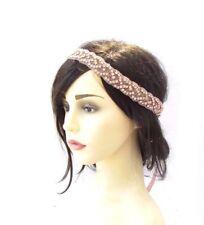 Rose Gold Silver Diamante Bridal Headpiece Headband Wedding Ribbon Beaded 3874