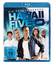 HAWAII FIVE-O-SEASON 5 Alex O'Loughlin, Scott Caan 5 BLU-RAY NEU