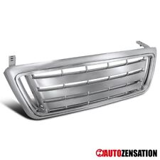 For 2004-2008 Ford F-150 Pickup Truck Chrome Billet Style Front Hood Grille 1PC