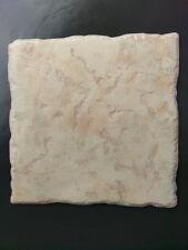 92c each Glazed Ceramic 320 x 320 Beige Tile NOBILE BARONIA