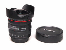 Canon EF 8-15 mm F/4 L USM Fisheye Zoom