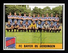 Paul Hesselbach Bayer Uerdingen  Panini Sammelbild 1981 Original Sign+ A 180792