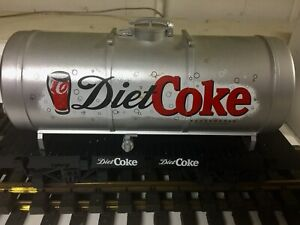 Diet Coca-Cola  G-Gauge General-style dome tank car