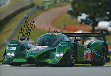 Emanuele PIRRO SIGNED LOLA Drayson Racing 12x8 Photo AFTAL Autograph COA Hungary